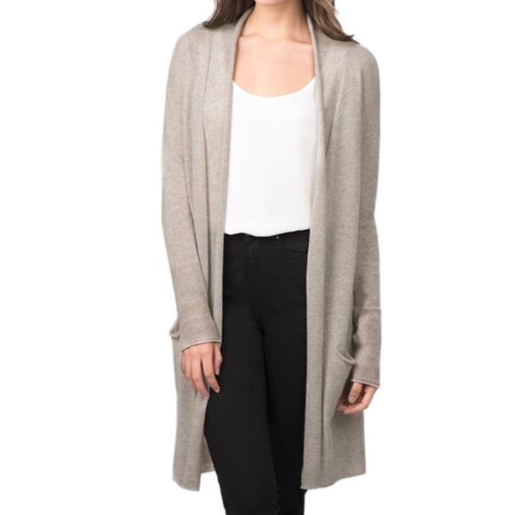 c8280c43a5 Cuyana Sweaters - Cuyana Open Cashmere Cardigan